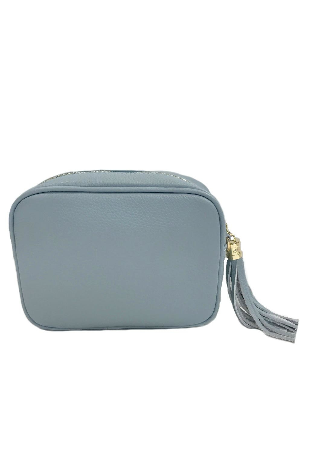 Leather Country Leather Clutch Tassel - Front Full Image