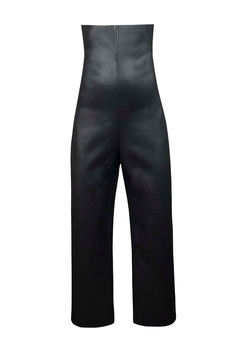 Helena Jones Leather Cropped Pants - Product List Image