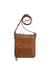 American West Leather Cross Body - Product Mini Image
