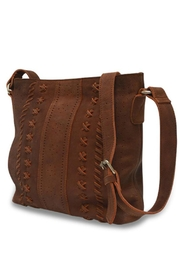 MHGS Leather Crossbody Bag - Product Mini Image