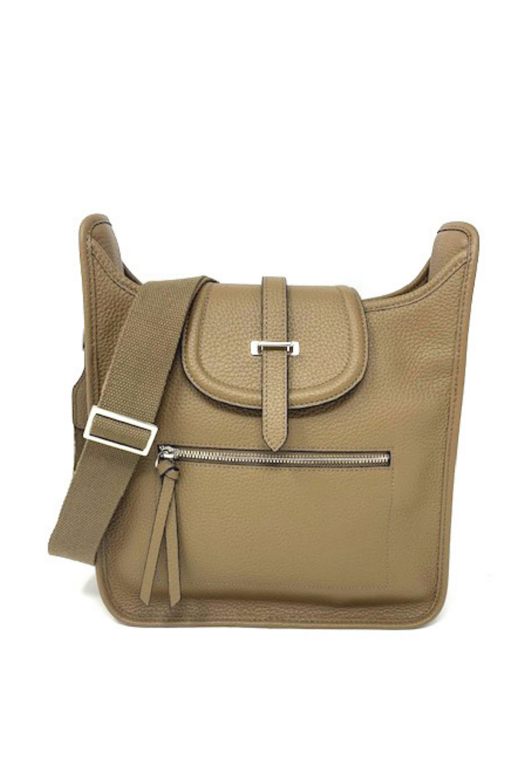 INZI  Leather Crossbody or Shoulder Bag - Main Image