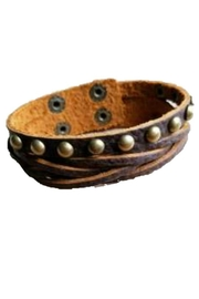 The Jewelry Junkie Leather Cuff - Product Mini Image