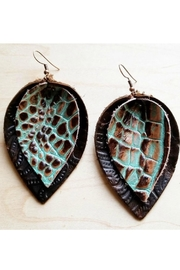 The Jewelry Junkie Leather Earrings - Product Mini Image