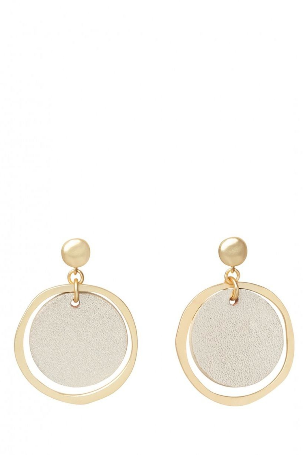 Spartina 449 Leather Earrings - Main Image