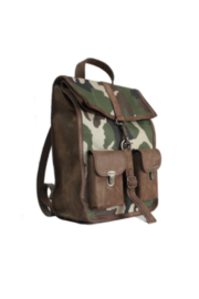 Kjore Leather / Fabric Survey Classic Camouflage - Front full body