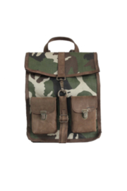 Kjore Leather / Fabric Survey Classic Camouflage - Front cropped