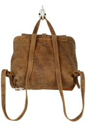 Myra Bags Leather Flap Hairon - Back cropped