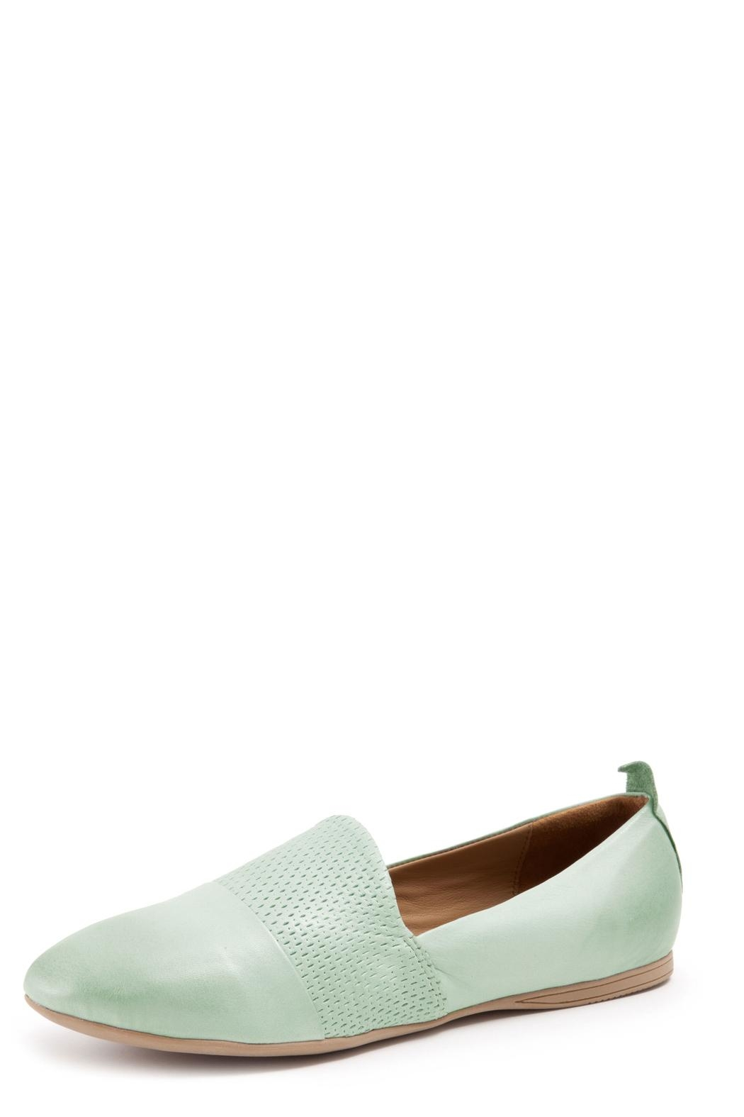 Bueno Shoes Leather Flat Shoe - Front Cropped Image