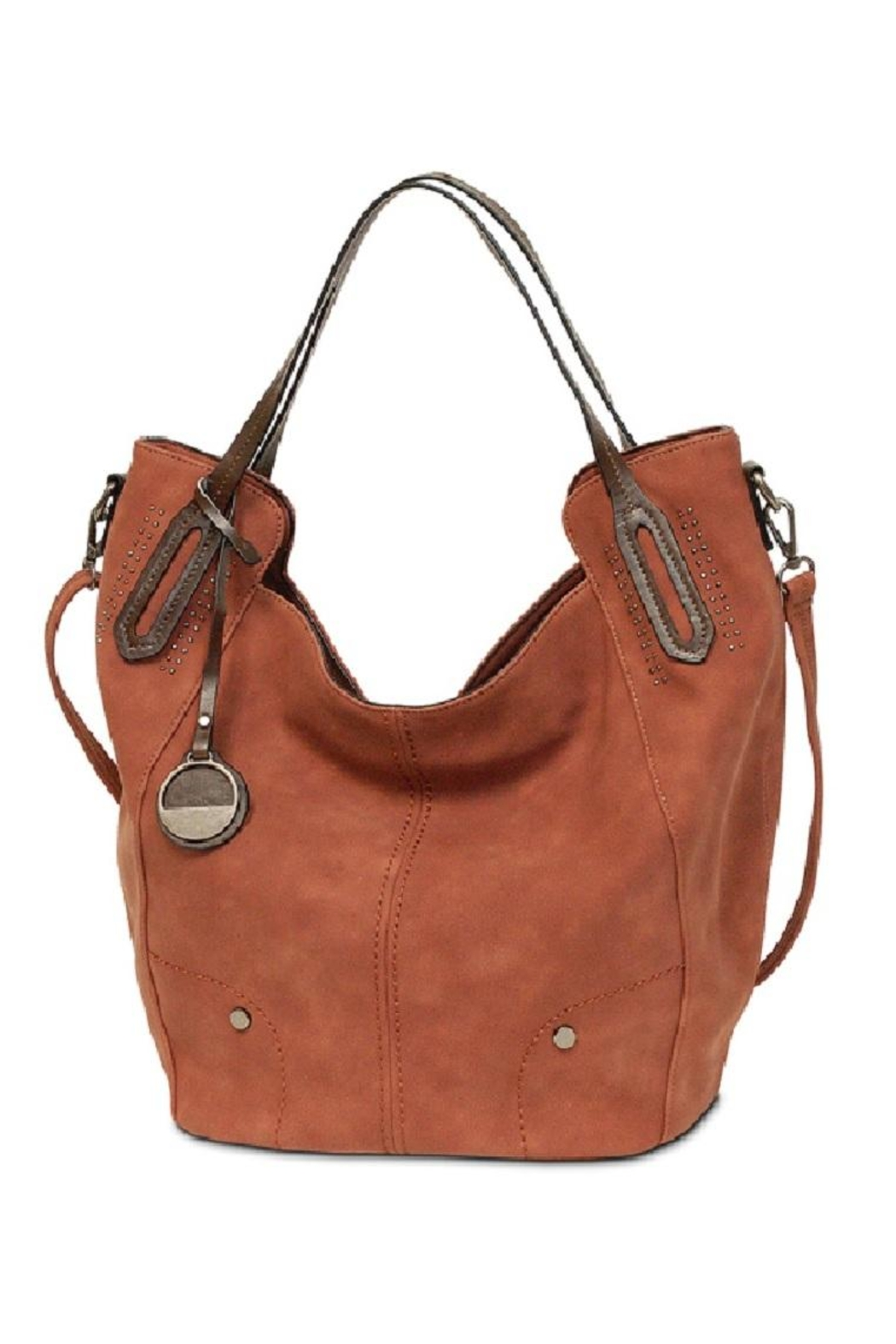 10c8dab7c3d2 MC Handbags Leather Hobo Tote from Saratoga by Laura M — Shoptiques