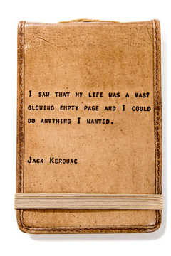 Shoptiques Product: Leather Journal Jack Kerouac Mini