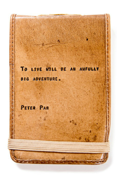 Shoptiques Product: Leather Journal Peter Pan Mini