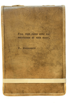 Shoptiques Product: leather journal W. Wordsworth