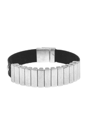 Maison A Leather & Metal Bracelet - Product Mini Image