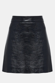 Theory Leather Mini Skirt - Product Mini Image