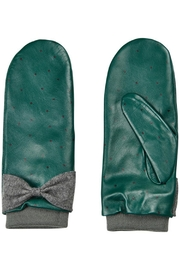 Numph Leather Mittens - Product Mini Image