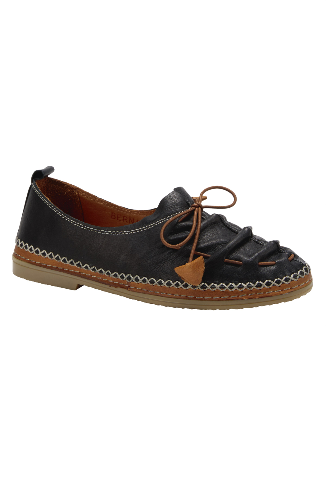 Spring Footwear Leather Moccasin - Main Image