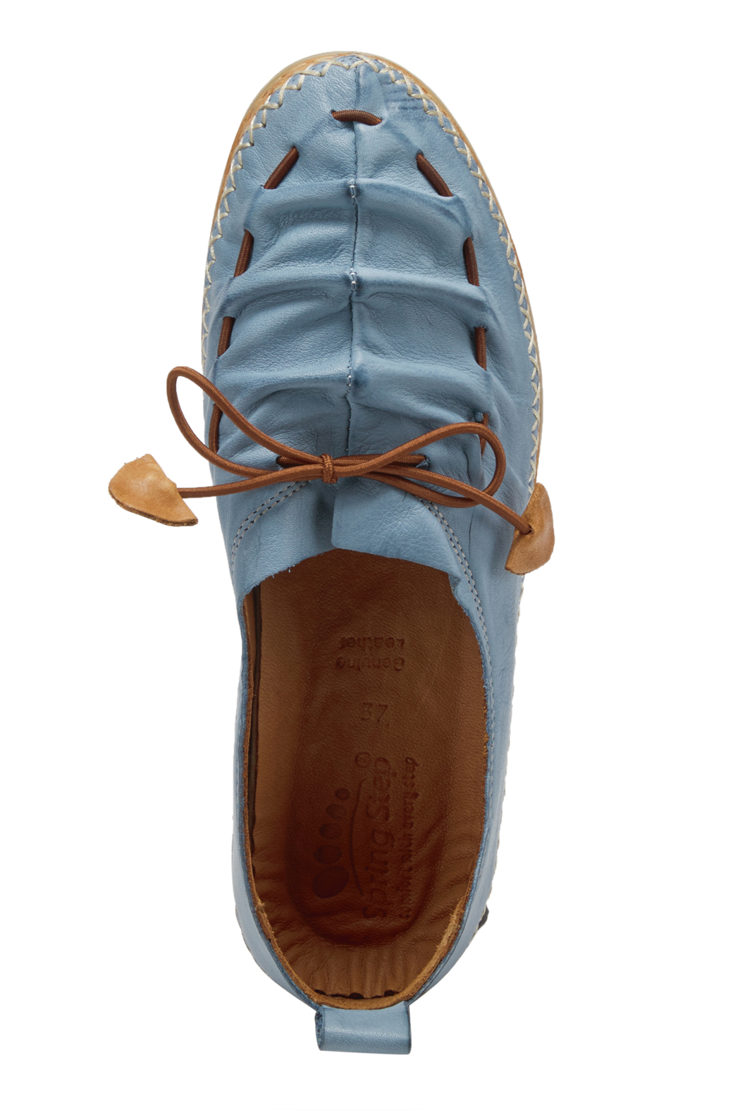 Spring Footwear Leather Moccasin - Front Full Image