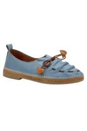 Spring Footwear Leather Moccasin - Front cropped