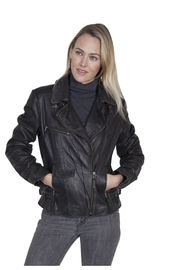 Scully Leather Moto Jacket - Product Mini Image
