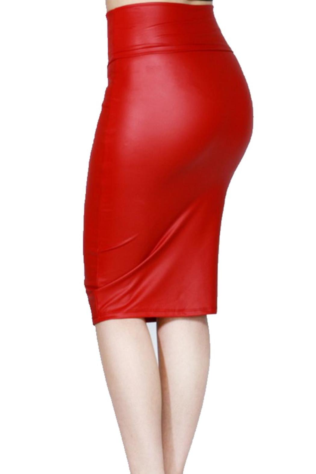 Vegan Leather Pencil Skirt from Las Vegas by Glam Squad Shop ...