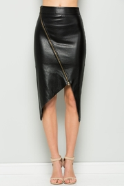 Comme USA Leather Pencil Skirt - Product Mini Image