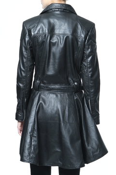 Madonna & Co Leather Peplum Moto - Alternate List Image