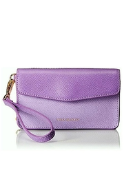 Vera Bradley Lilac Leather Smartphone Wristlet - Product Mini Image