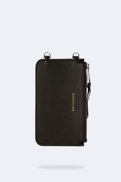 Bandolier Leather Pouch Black/silver - Product List Image