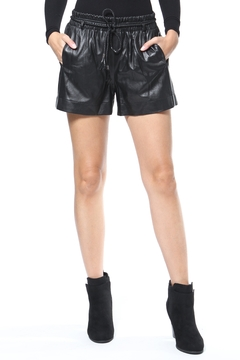 Madonna & Co Leather Shorts - Alternate List Image