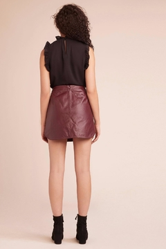 BB Dakota Leather Skirt - Alternate List Image