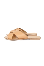 Seychelles Leather Slide Sandals - Front cropped