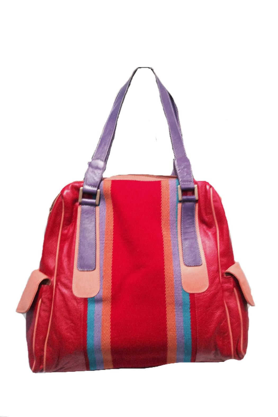 Limon Piel Handcrafted Leather Handbag Front Full Image