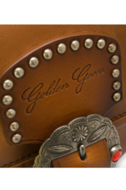 Golden Goose Deluxe Brand LEATHER TEXAS RODEO BAG - Back cropped