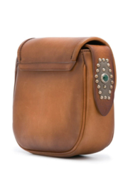 Golden Goose Deluxe Brand LEATHER TEXAS RODEO BAG - Front full body