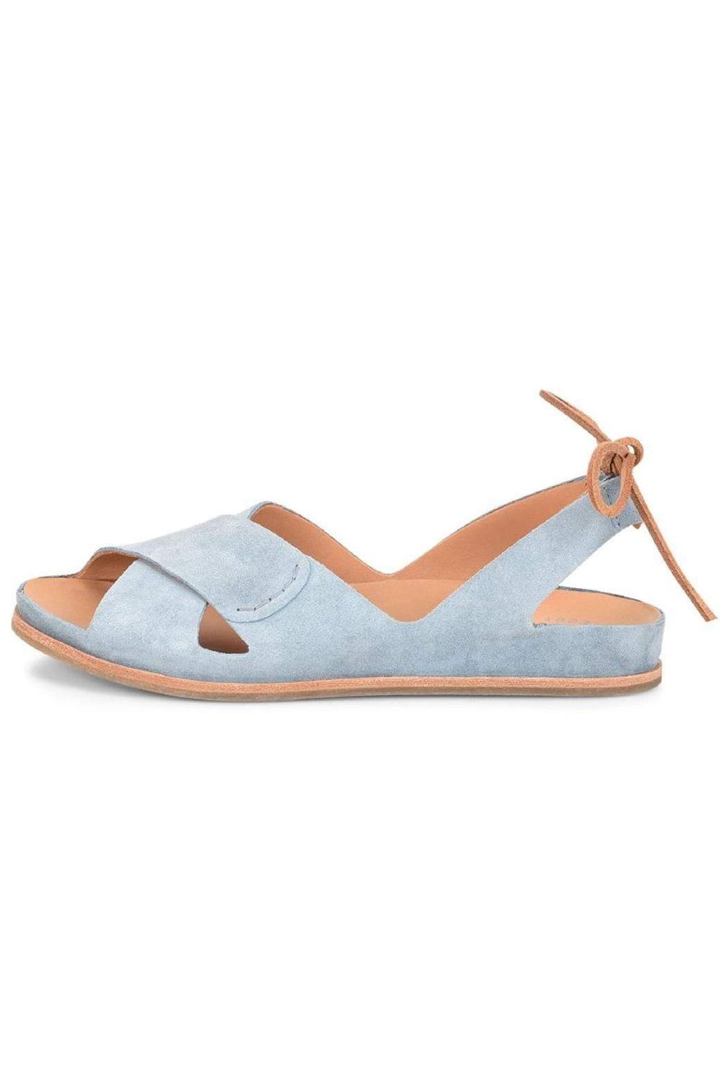 Kork Ease Leather Tie Sandals - Front Cropped Image
