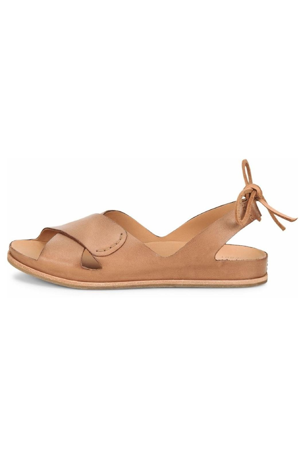 Kork Ease Leather Tie Sandals - Main Image
