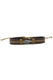Anju Handcrafted Artisan Jewelry Leather TN Bracelet - Product Mini Image