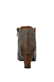 Spring Footwear Leather Tooled Bootie - Front cropped