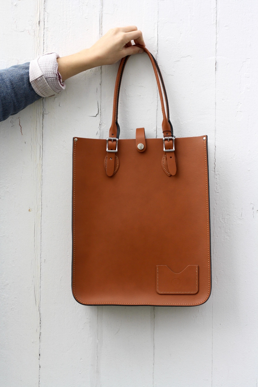 The Leather Satchel Company Leather Tote Bag - Main Image