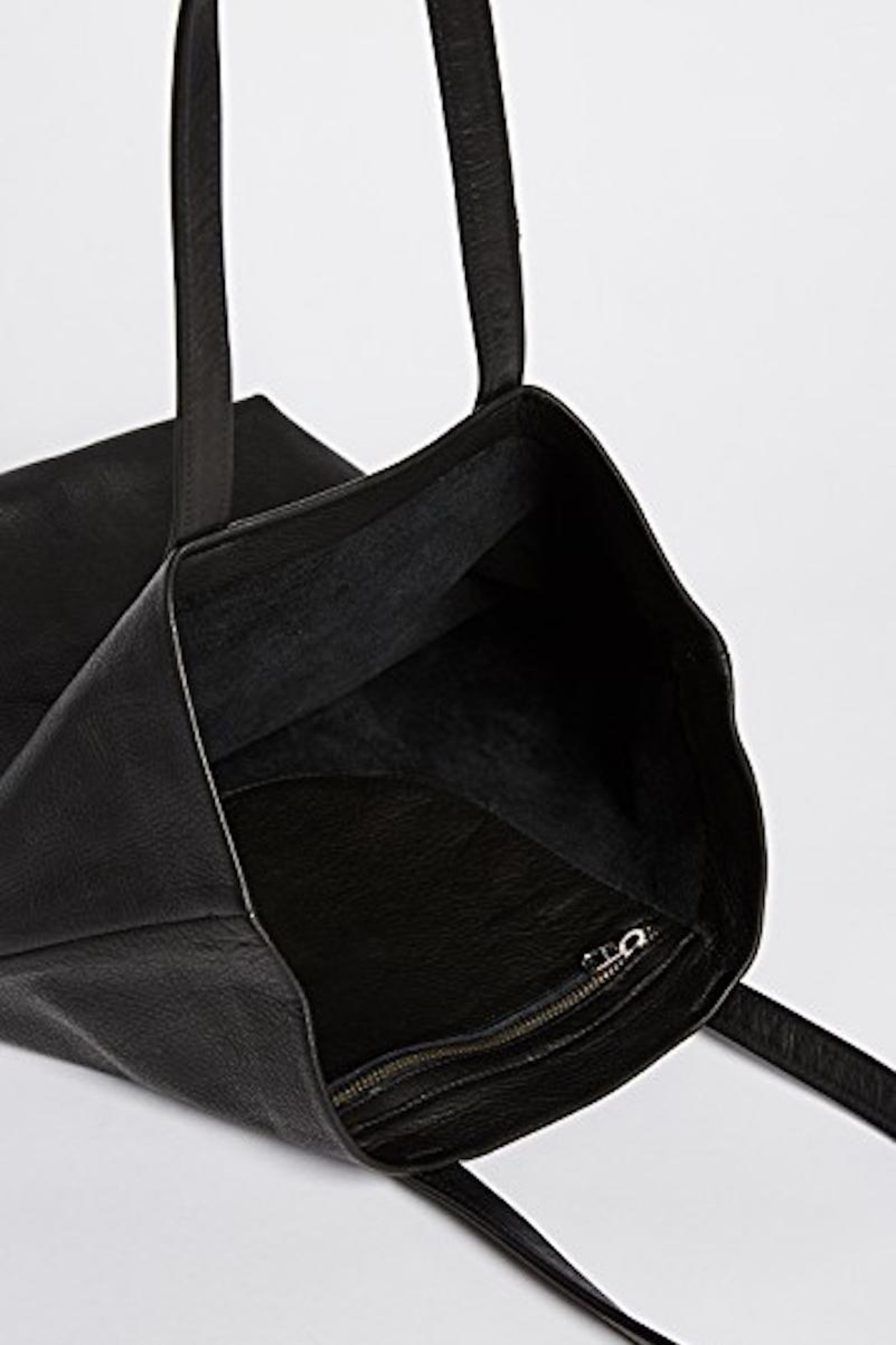 Baggu Leather Tote Bag - Front Full Image