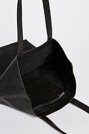 Baggu Leather Tote Bag - Front full body