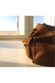 Kjore Leather Travel Bag - Front cropped