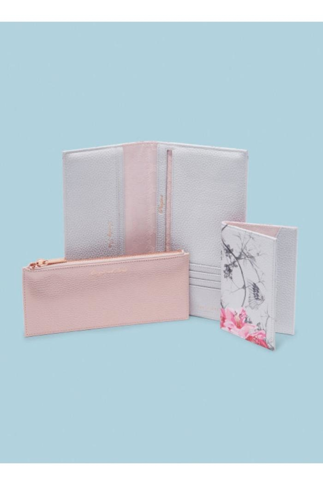 Ted Baker Leather Travel Wallet - Main Image