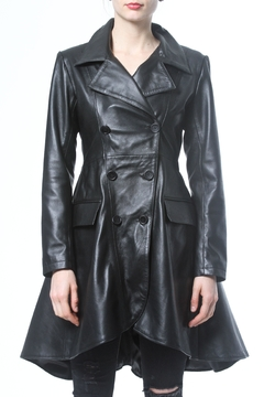 Shoptiques Product: Leather Trench