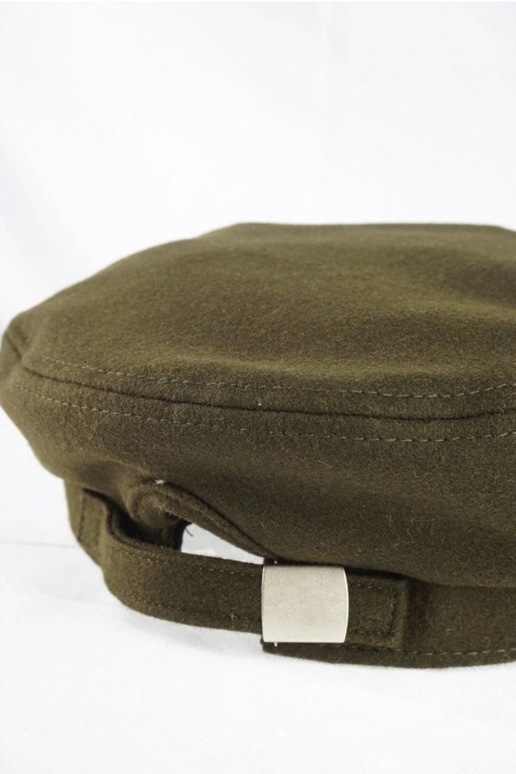 Olive & Pique Leather Trim Cap - Side Cropped Image