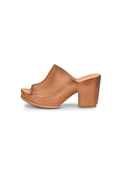 Shoptiques Product: Leather Wide-Strap Heel