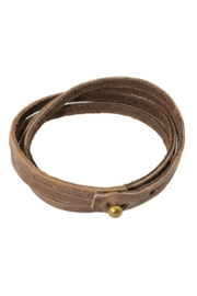 Made It! Leather Wrap Bracelet - Product Mini Image