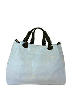 Leather Country Blue Leather Duffle - Alternate List Image