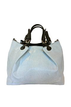 Leather Country Blue Leather Duffle - Product List Image