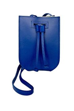 Leather Country Cobalt Leather Bag - Product List Image